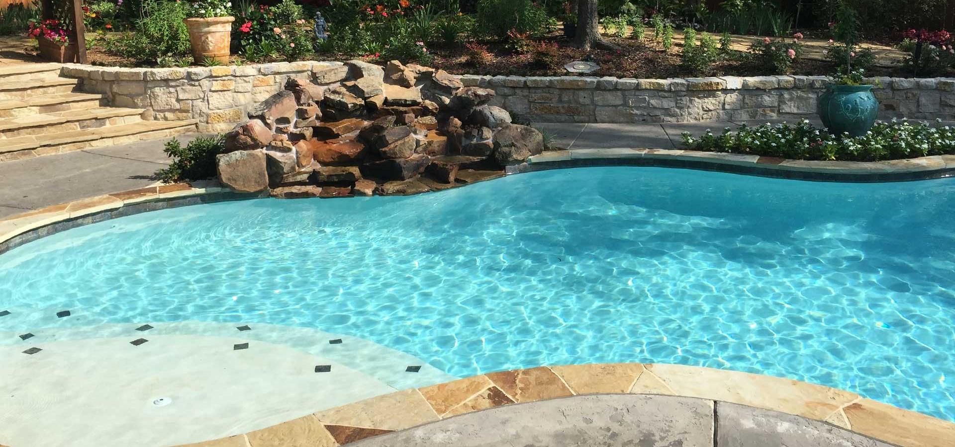 Custom Pool Builder - Tyler, East Texas | Flamingo Bay Pools
